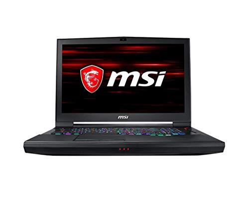"MSI GT75 Titan 9SG-285ES - Ordenador portátil de 17.3"" FHD (Intel Core i9-9980HK, 32*2 GB RAM, 2 TB SSD, GeForce RTX 2080 de 8 GB GDDR6, Windows 10 Home) - Teclado QWERTY Español"
