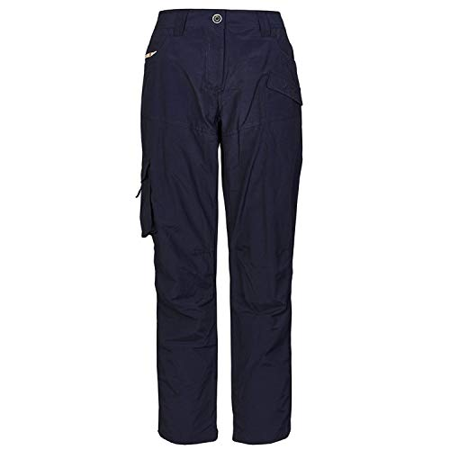 G.I.G.A DX Helania Casual Hose mit Gürtel Femme, Bleu Marine, FR : XL (Taille Fabricant : 44)