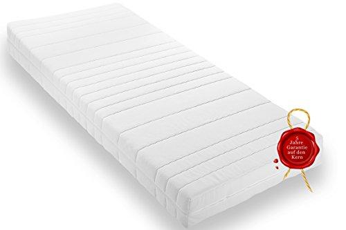 Wohnorama Qualitäts Matratze H3 Rollmatratze inkl. Klimafaser, Öko-Tex, umlaufender Reißverschluss, 5 Jahre Garantie* (100 x 200 cm)