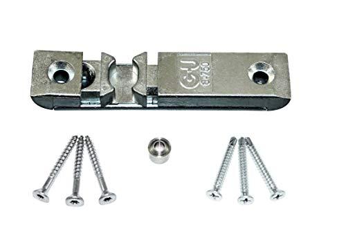 GU Türschnäpper/Balkontürschnäpper/Fensterschnäpper 8-750 (8-00750-01-0-1) inclusive Rollzapfen & SN-TEC Montagematerial