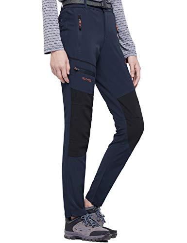 BenBoy Pantalon Montaña Mujer Secado Rápido Impermeable Pantalones Trekking...