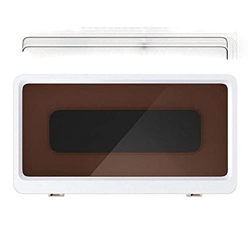 Soporte para teléfono de montaje en pared, pantalla táctil extraíble sin perforaciones para baño, ducha, cocina, compatible con todos los teléfonos móviles de menos de 6,8 pulgadas, color blanco