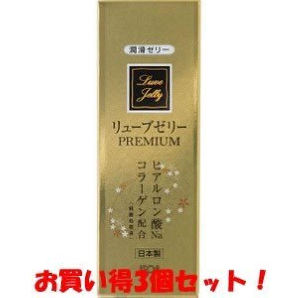 広告する思想付き添い人(ジェクス)リューブゼリー プレミアム PREMIUM 55g(お買い得3個セット)