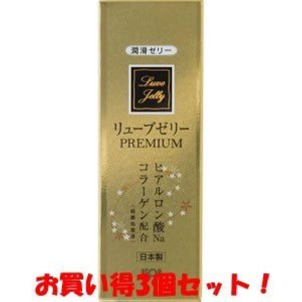 ホット登場レパートリー(ジェクス)リューブゼリー プレミアム PREMIUM 55g(お買い得3個セット)