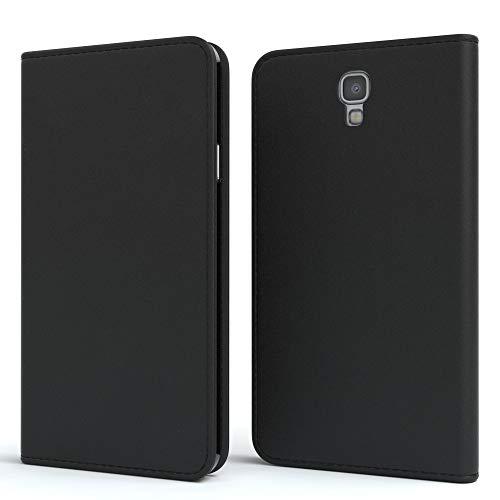 EAZY CASE Tasche für Samsung Galaxy Note 3 Neo Vintage Schutzhülle mit Standfunktion Klapphülle im Bookstyle, Handytasche Handyhülle Flip Cover mit Magnetverschluss & Kartenfach, Kunstleder, Schwarz