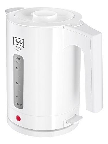 Melitta Wasserkocher, Easy Aqua, 1,7 Liter, 2.400 Watt, Weiß, 1016-01
