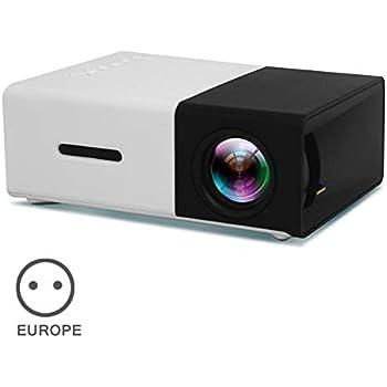 VicTsing Proyector,3200 Lúmenes Multimedia Vídeo Mini Proyector ...