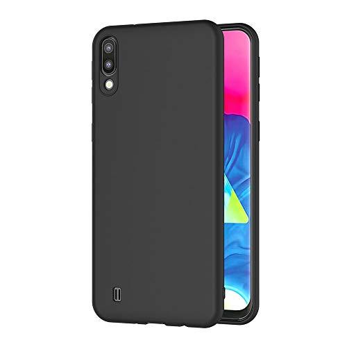 AICEK Compatible Samsung Galaxy M10 / Samsung Galaxy A10 Hülle, Schwarz Silikon Schutzhülle für Samsung M10 Hülle TPU Bumper Galaxy A10 Handyhülle (6,22 Zoll)