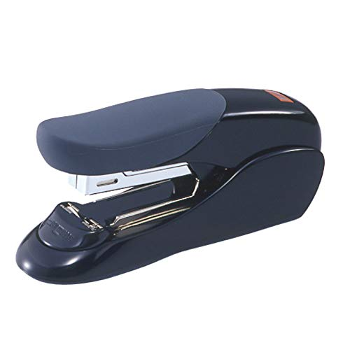 Max USA Easy Grip Heavy Duty Desk Stapler (HD-50F Black)