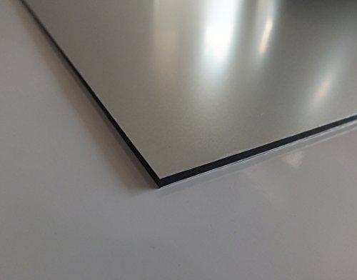 Cuadros Lifestyle MasterBond DiBond Aluminium-Platte | Aluminium-Verbundplatten | 2-Face | Ideal für Werbetafeln, Beschilderung, Displays | Messebau | Stärke: 3 mm, Größe:53x35 cm