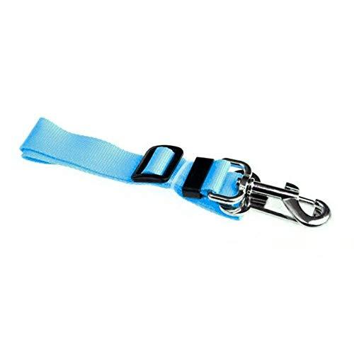 LCZMQRCLMZRQ Praktisch verstelbare kat en hond huisdier autogordel trekkoord veiligheidsgordel harnasgordel pak stropdas reisclip, blauw, normaal