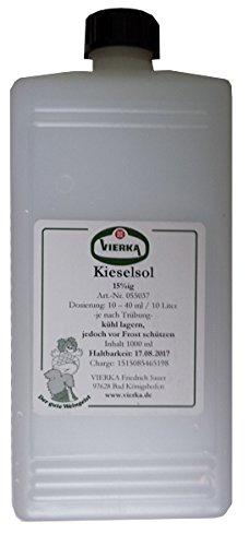 Kieselol 15 % zur Klärung + Gerbstoffschönung in Wein Vierka 1 Liter