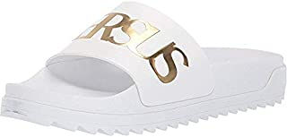 versace leather slippers