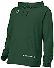 EvoShield Adult Pro Team Hoodie, Dark Green - Large