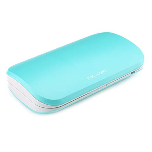 Easycare 携帯電話の消毒 UV殺菌 消毒ボックス 抗菌殺菌ボックス uv iPhone Android 抗菌多機能旅行ケース 小物滅菌ボックス 歯ブラシ除菌器 … (マラカイトグリーン)