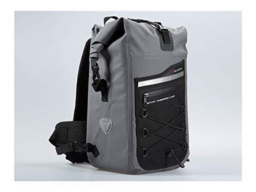 SW-MOTECH Drybag 300 Rucksack 30L, Grau/Schwarz, Wasserdicht