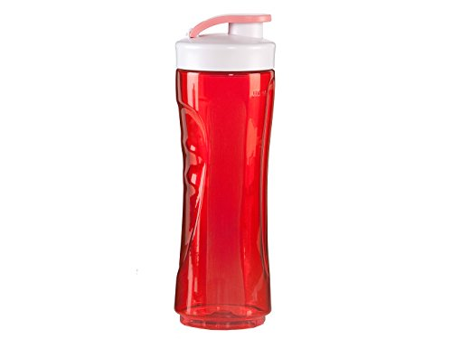 Domo drinkfles 600 ml, rood, voor smoothiemaker My Blender Original