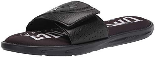 Under Armour Men s Ignite Vi Graphic Fb Slide Sandal Black 001 Black 11 M US product image