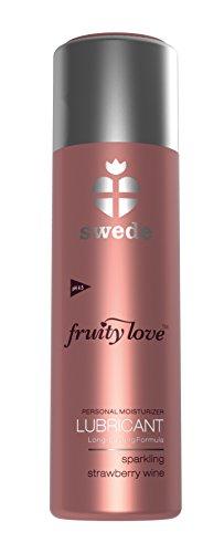 Fruitige liefde 100 ml mousserende aardbei wijn smeermiddel
