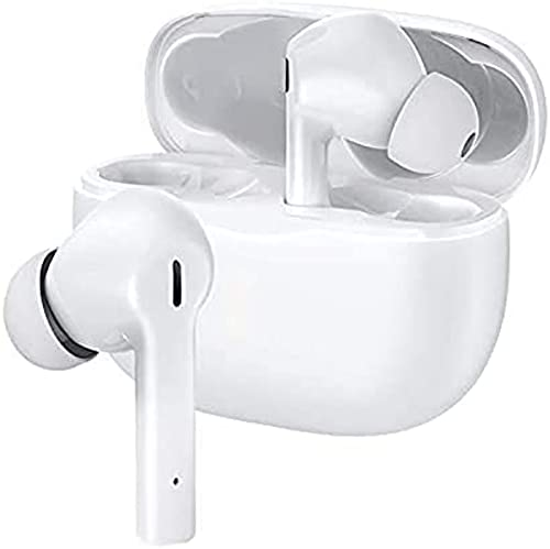 Wireless Earbuds Bluetooth 5.0 Headphones with Wireless Charging Case Built in Mic Noise Cancelling 3D Stereo Headsets in Ear Ear Buds IPX5 Water Resistant Air Buds for iPhone/Android