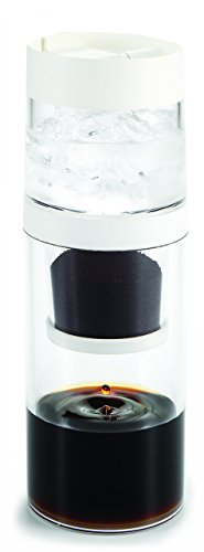 gosh! 10-Ounce Dripo Cold-Brew Coffee Maker, Clear