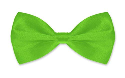 Autiga Autiga ® Fliege Herren Hochzeit Konfirmation Anzug Smoking Schleife Schlips verstellbar apfelgrün