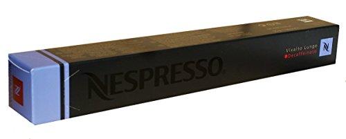 Nespresso Kapseln Vivalto Lungo Decaffeinato - 1er Pack, 10 Kapseln (blau) - Entkoffeiniert