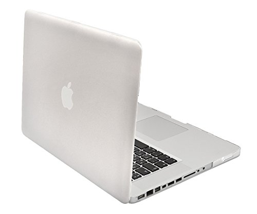 Lilware Smooth Touch - Carcasa rígida para MacBook Pro de 2ª generación A1278 (13,3'), Transparente 13-Inch MacBook Pro 2nd Gen Semi-Transparente