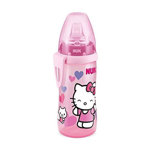 Copo Antivazamento Active Cup da Hello Kitty, NUK, rosa, 300 ml