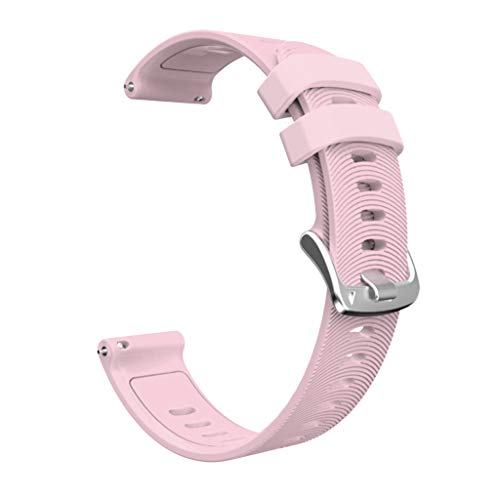Supefriendly Correa de silicona para reloj GArmin Forerunner 245 245M 645 Huawei 2 de 20 mm
