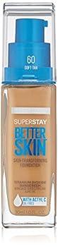 Maybelline Super Stay Better Skin Foundation Soft Tan 1 fl oz.