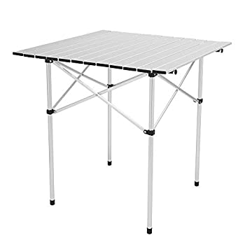 Road.Ahead Aluminum Folding Camping Table,Portable Camping Table 2.3Foot Lightweight Foldable Table Desk Height Adjustable,Home,for Camping Party Picnic Beach Outdoor InKitchendoor