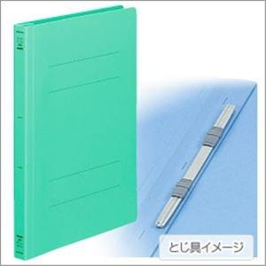 コクヨ (業務用セット) フラットファイル(ポリプロピレン表紙) B5タテ・グリーン (×30セット)
