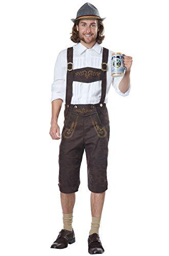 California Costumes Mens Oktoberfest Man Adult Costume White/Brown