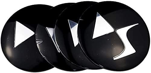 Para Citroen DS3 DS4 DS6 C2 C3 C4 C4l C5 Coche Rines Centrales Tapas Cubo Rueda Buje, Vehículos Wheel Center Rim Hub Caps Resistente Polvo Agua Estilo Accesorios