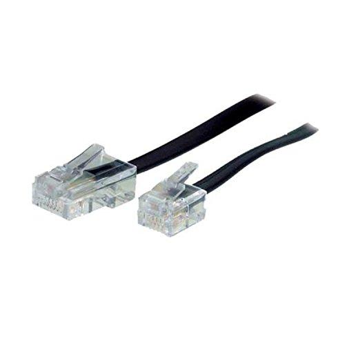 S/CONN maximum connectivity Western-Stecker 8/4 / Western-Stecker 6/4 3m