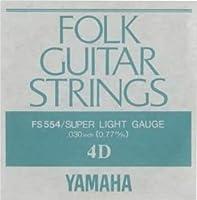 YAMAHA FS554 アコースティックギター用 バラ弦 4弦×12本