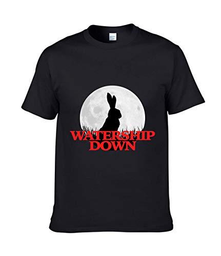 Watership Down Herren-T-Shirt Gr. XXL, Schwarz