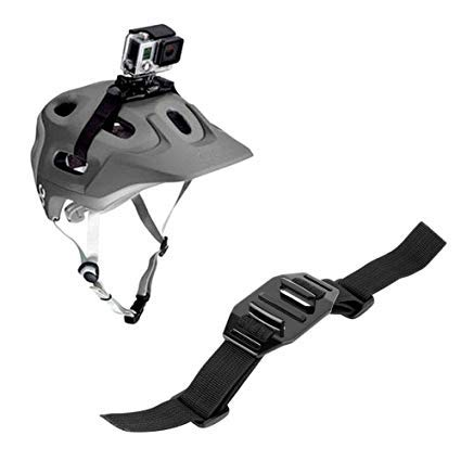 Technobebe.shop Soporte con correa ajustable para cámara de acción, tamaño estándar, casco...
