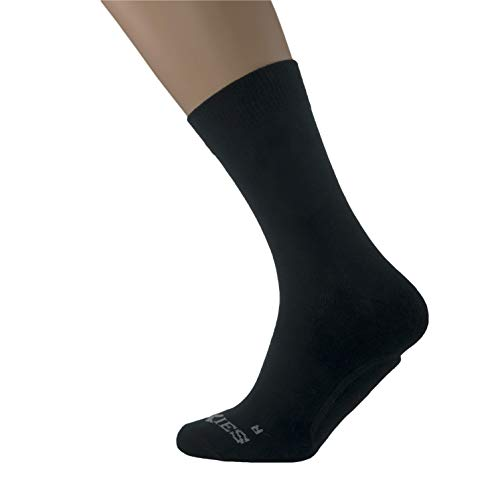 SoXies Cozy Socks for Men & Women | Made from 80% Cotton, Premium Feel & Relieves Pain | Durable, Breathable & Shock-Absorbing for Work & Sports with TPR Pads for Stability