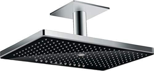 Hansgrohe Kopfbrause Rainmaker Select 460 3jet Deckenmontage schwarz/chrom, 24006600