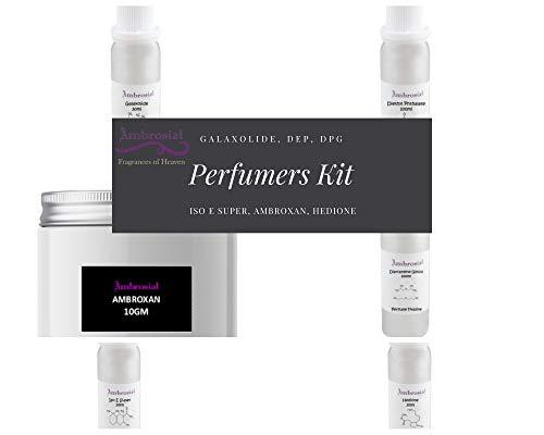 Ambrosial - Fragrances of Heaven Kit de perfumes - Galaxolide DEP DPG ISO E SUPER HEDIONE AMBROXAN