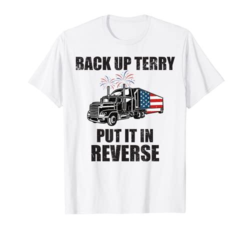 Camiseta de Fuegos Artificiales de Terry Funny 4th Of Julio American Camiseta