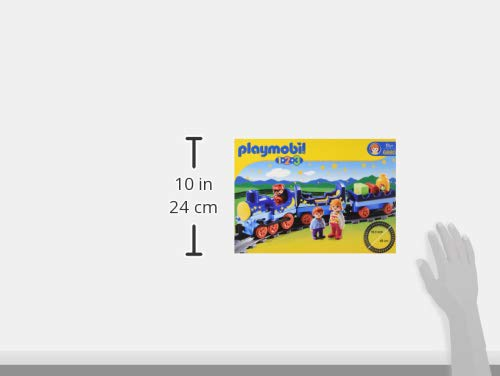 Playmobil 6880 1.2.3 Night Train with Track