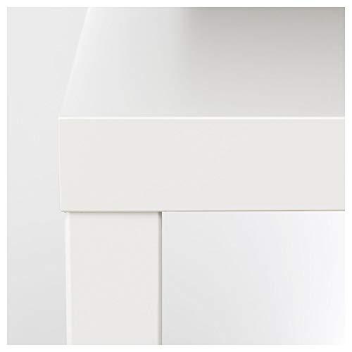 Juego de 2 mesas auxiliares IKEA LACK color blanco