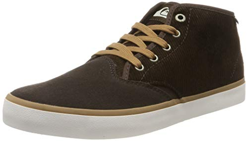 Quiksilver Shorebreak Mid Sherpa-Shoes for Men, Botas Clasicas para Hombre, Marrón Brown/White Xccw, 43 EU