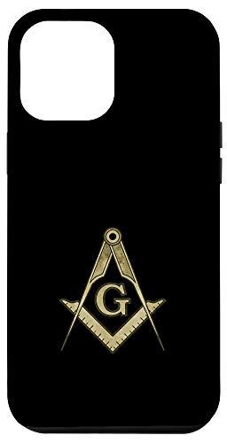 iPhone 12 Pro Max Masonic Square and Compass Case