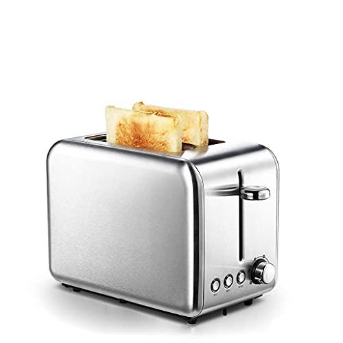 GHJU Qingqiasoshangmao Tostadora de Acero Inoxidable, Pan de tostadora automática para el hogar Máquina de Desayuno de Pan Tostado Horno de Pan Sandwich 2 rebanadas -6-7 Archivo