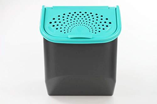 TUPPERWARE Organizador Modular de 8,3 L para Patatas Negro Turquesa 38105