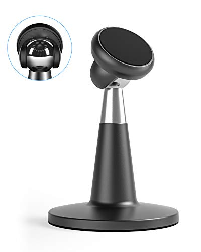 [Upgraded] Magnetic Cell Phone Stand for Desk, SUPERONE Desktop Phone Holder Compatible with iPhone 11 Pro Xs Xs Max Xr X 8 7 6, Samsung, Google Pixel and More